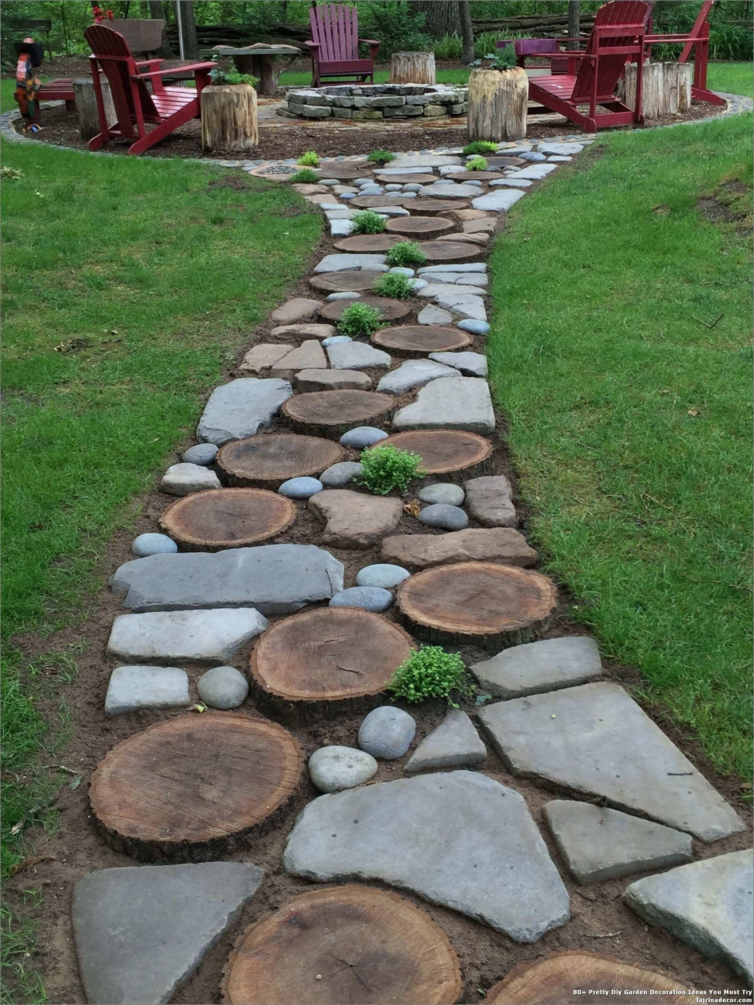Pisantes Para Jardim pedras