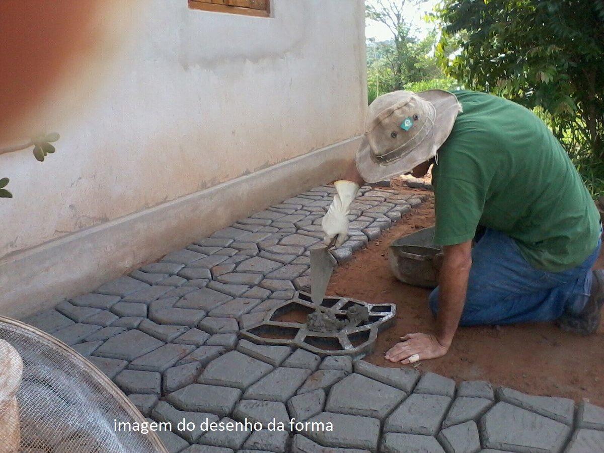 Pisantes Para Jardim concreto