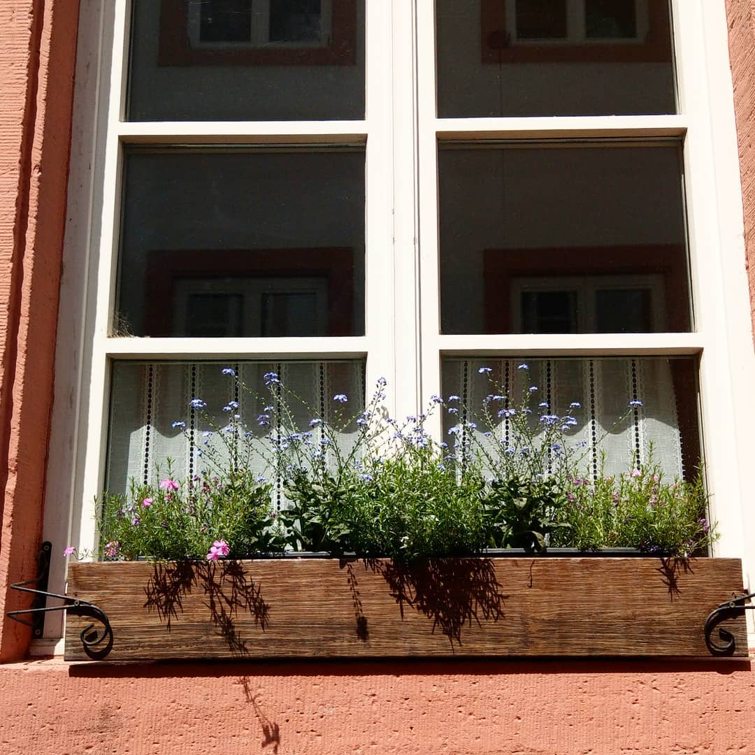 Floreira de janela de Madeira