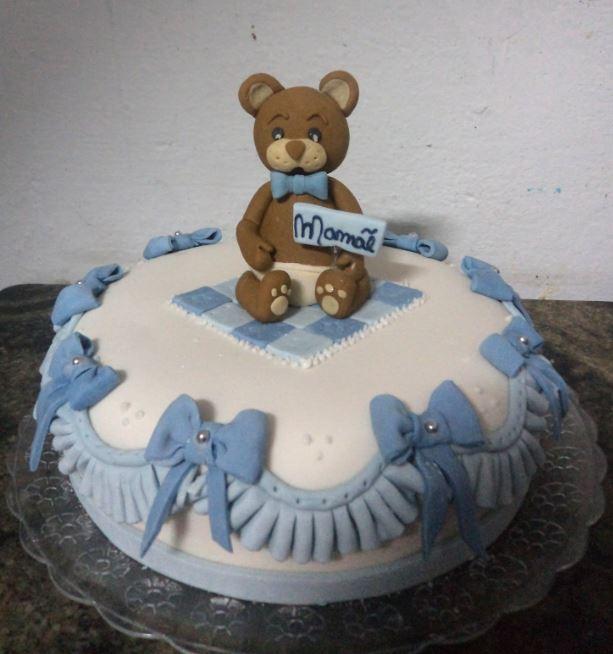 bolo pequeno e muito sofisticado
