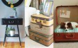 Dicas de Decoração Vintage com Malas Antigas