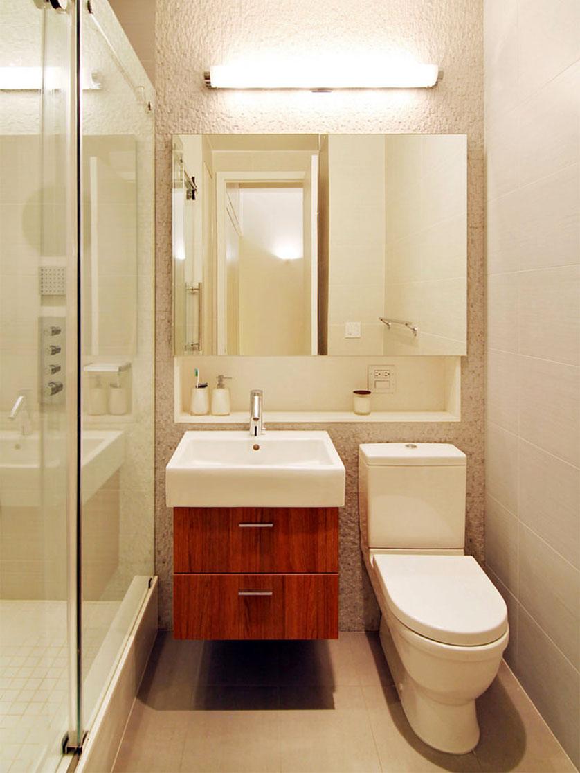 Cor Nude no Banheiro e Lavabo