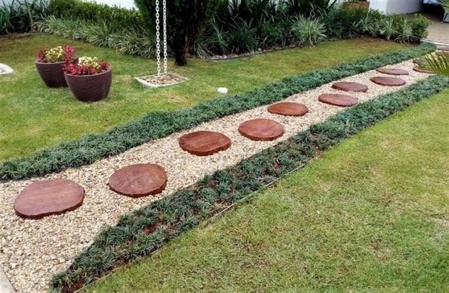 Mesa de Bolacha jardim