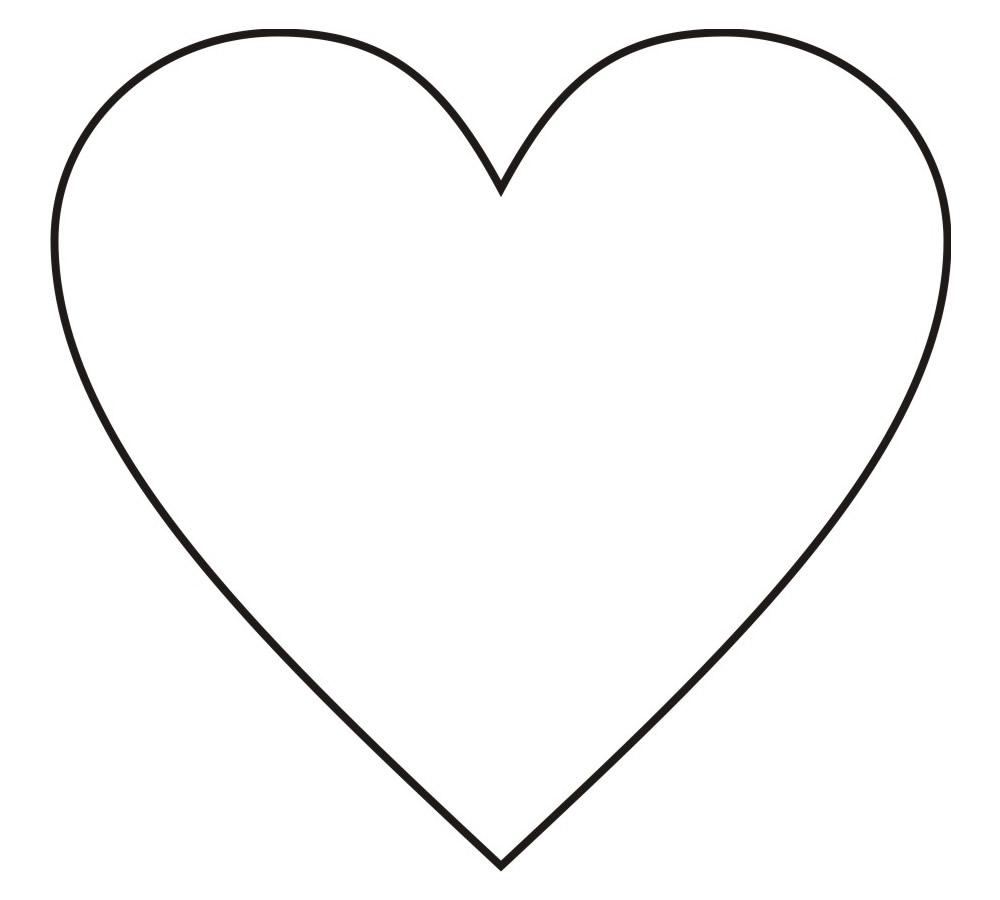 Moldes de Coração Médio
