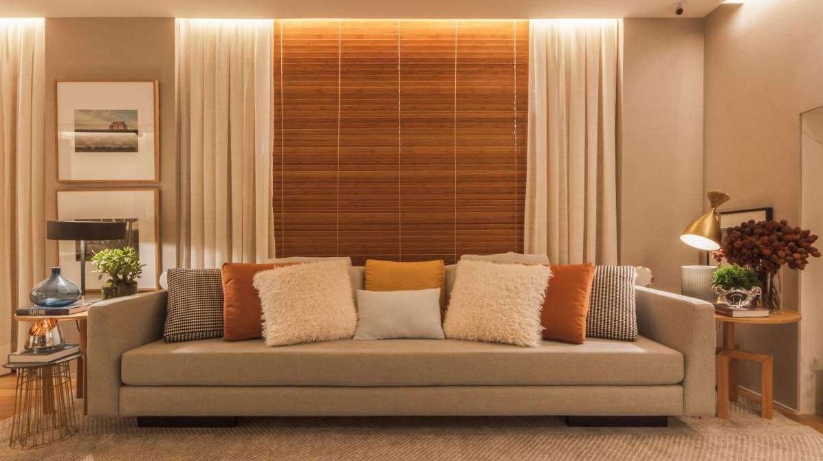 Persiana Horizontal bambu