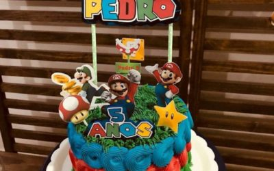 Bolo do Super Mario