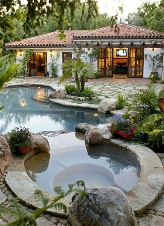 piscina natural de pedra