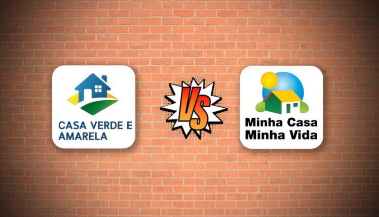 Diferenças entre Casa Verde Amarela e Minha Casa Minha Vida