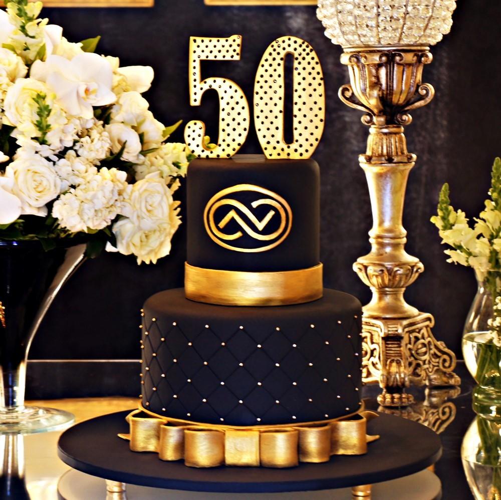 Bolo Para Festa de 50 Anos