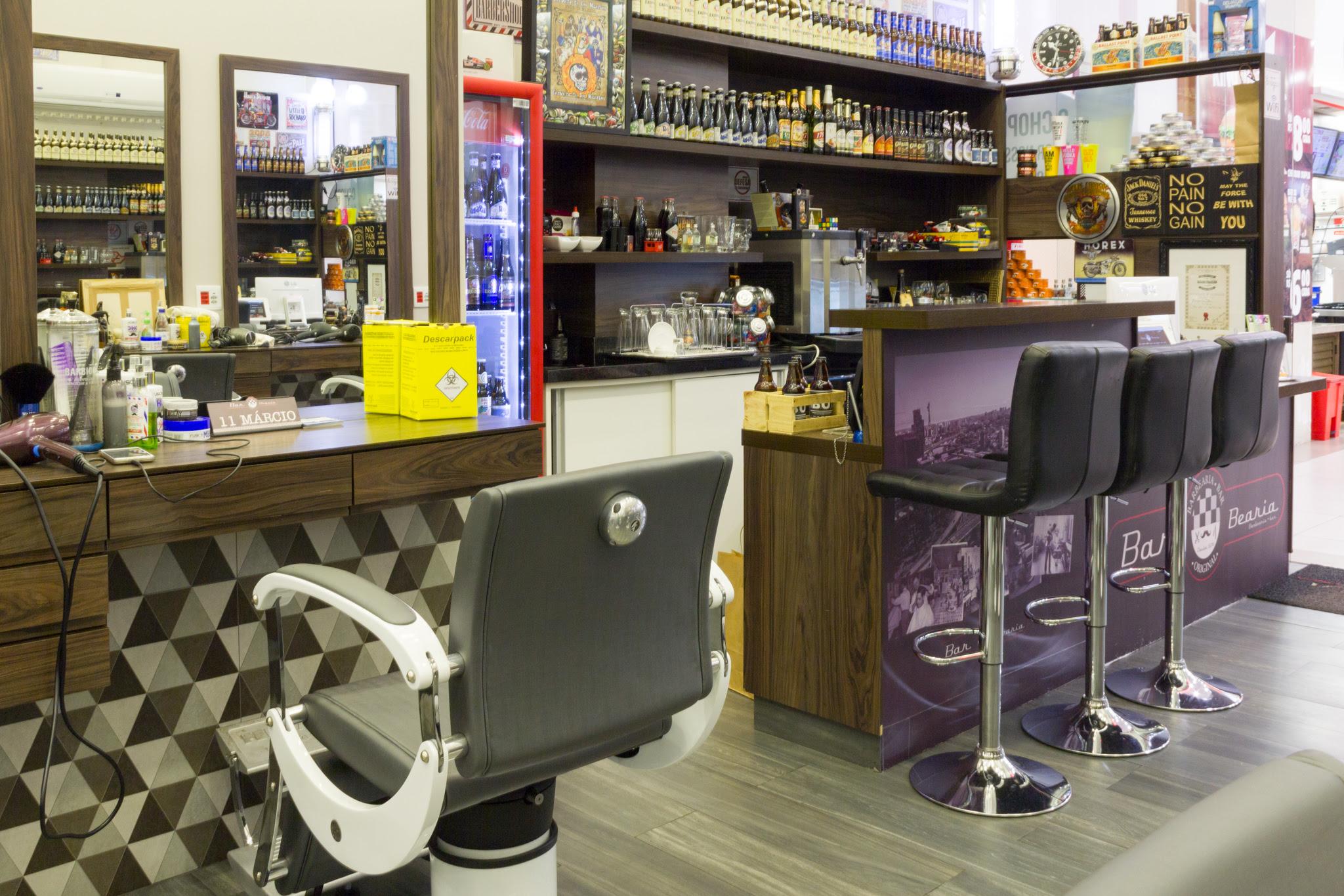 Decoração de Barbearia Bar Boteco