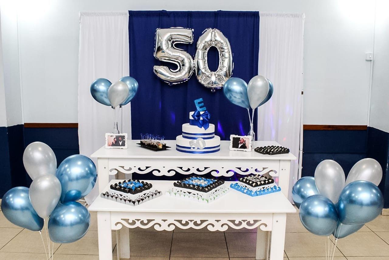 Festa De 50 Anos Masculina