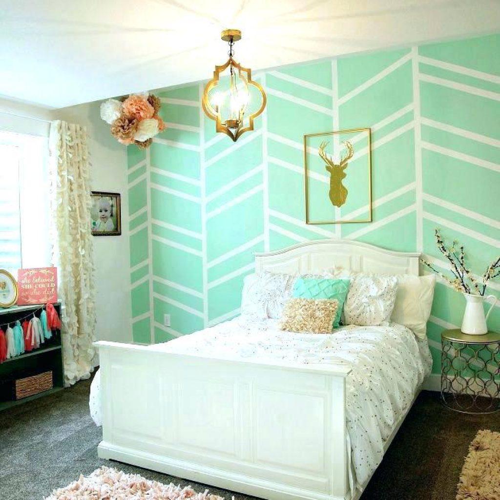 quarto verde menta