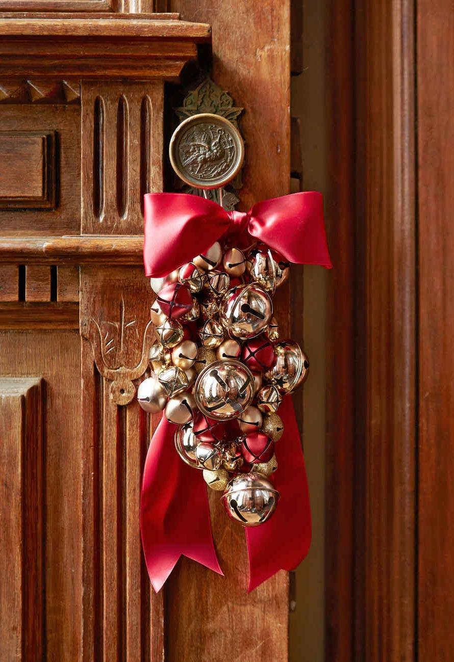 Laço de Natal Para Porta