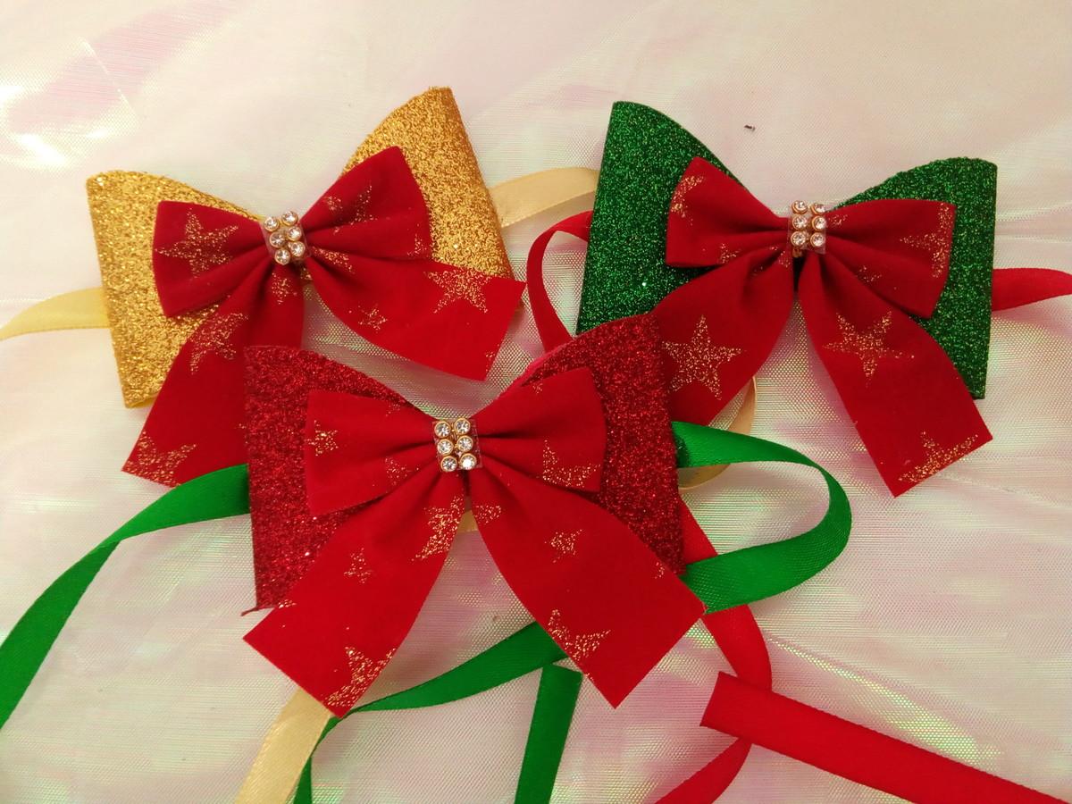 Laços de EVA de Natal
