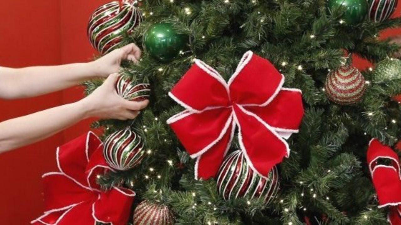 Laços de Natal grandes