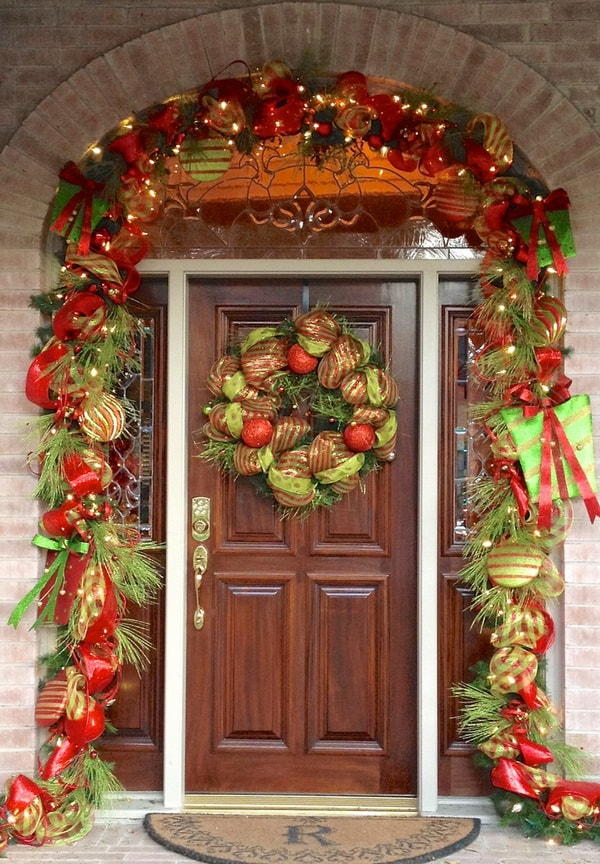 Arranjos de Natal Para Porta