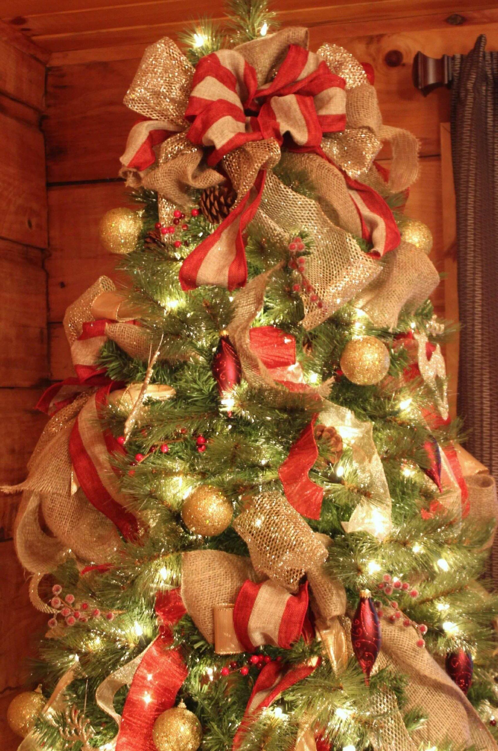 Árvore de Natal com Laços