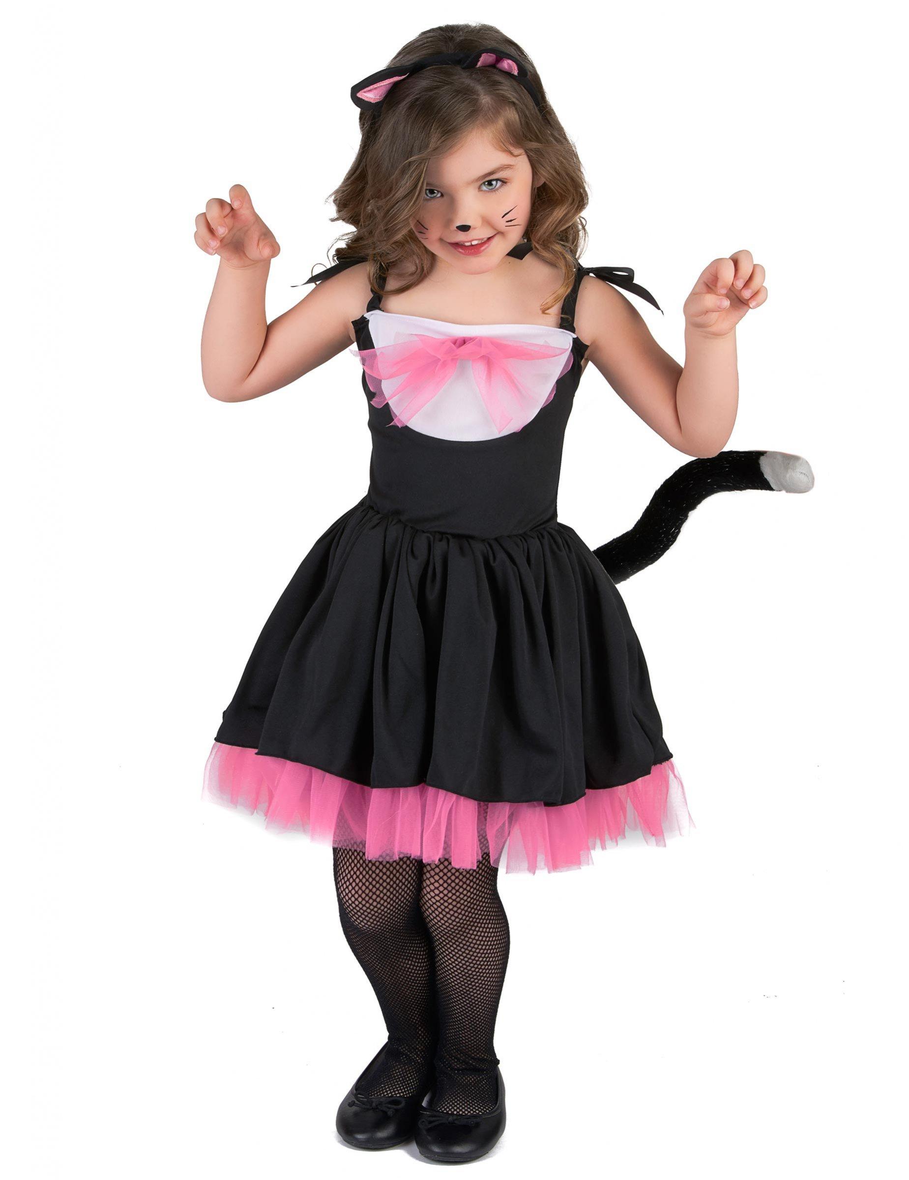 Fantasia de Mulher Gato infantil