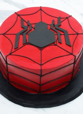 Bolo Redondo do Spiderman
