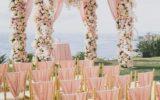 Decoração de festa na Praia de Casamento