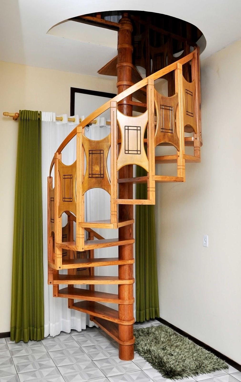 Guarda Corpo De Madeira Para Escadas