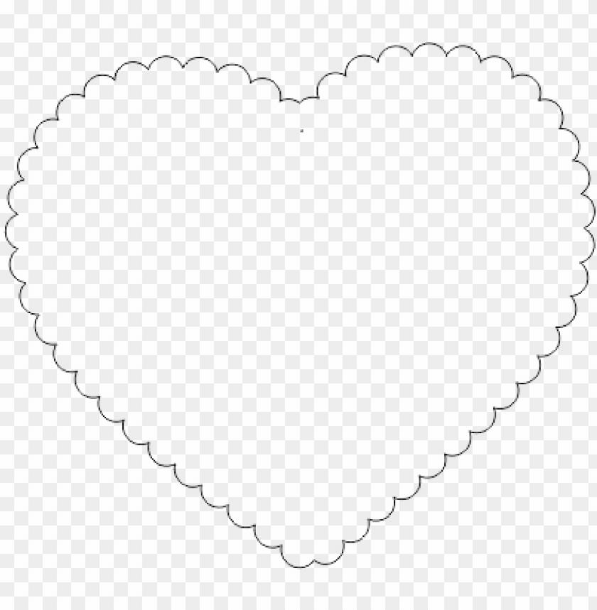 Moldes de Coração de feltro