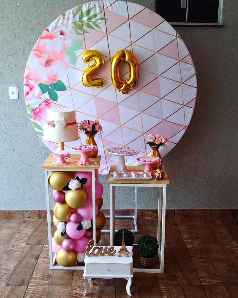 Festa De 20 Anos Simples E Barata
