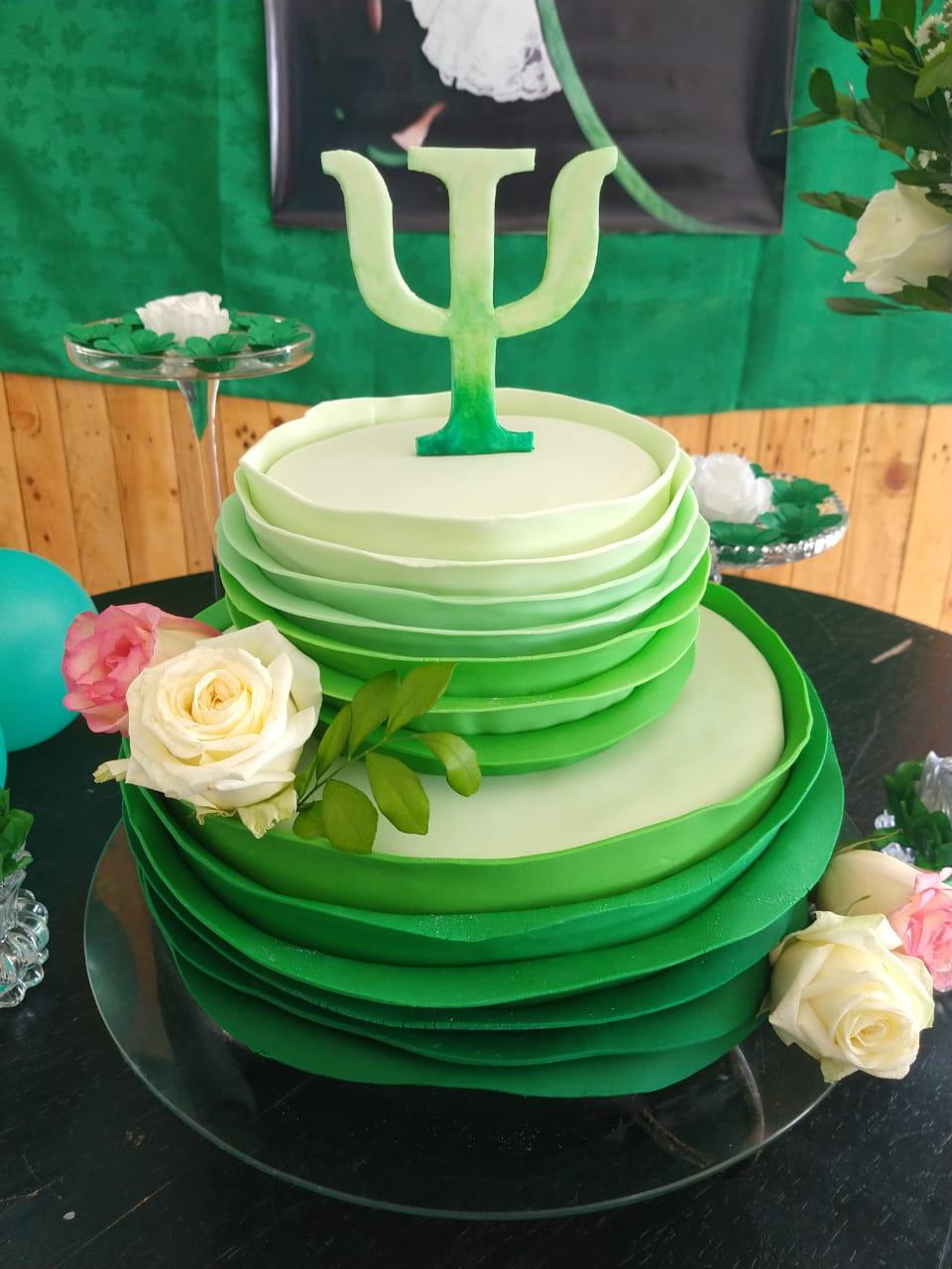 Glow Cake verde