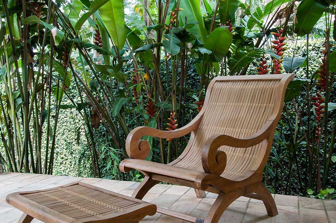 Móveis Para Jardim Tropical
