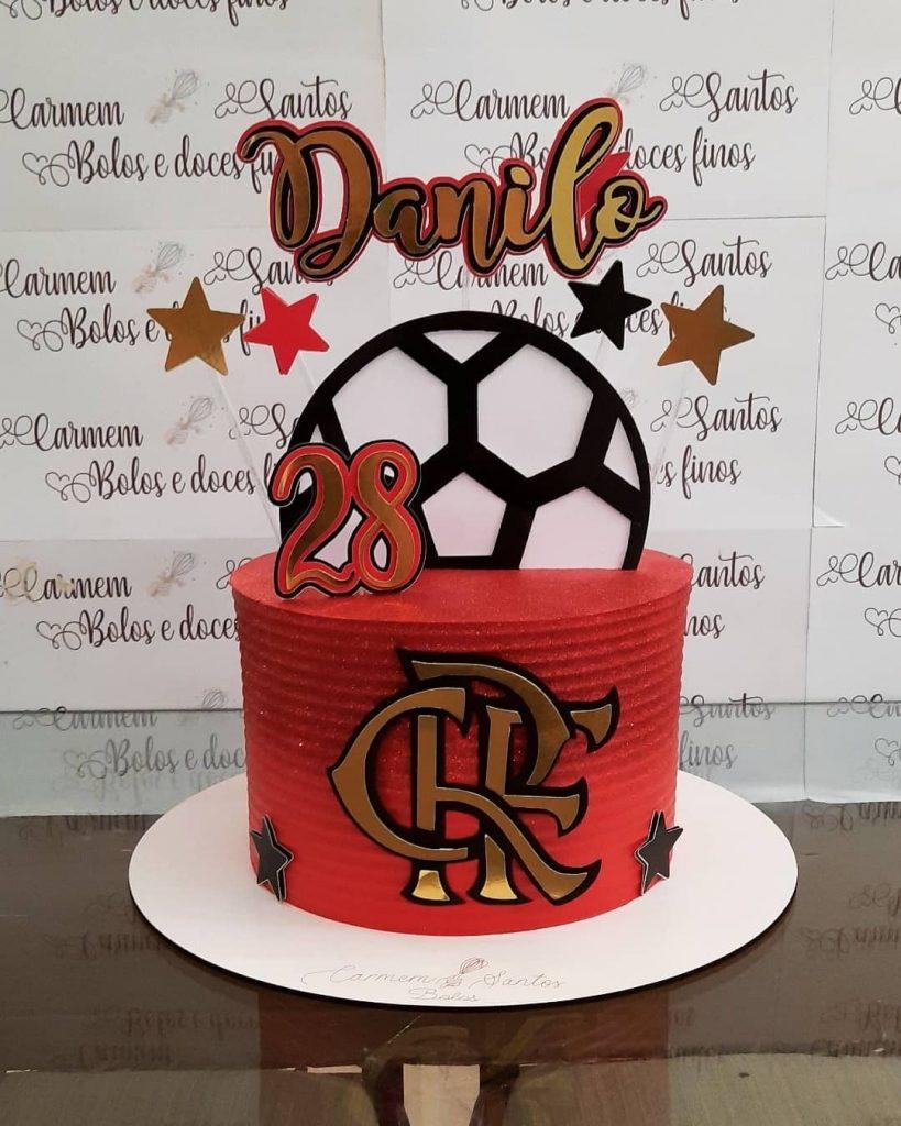 Topper De Bolo Flamengo