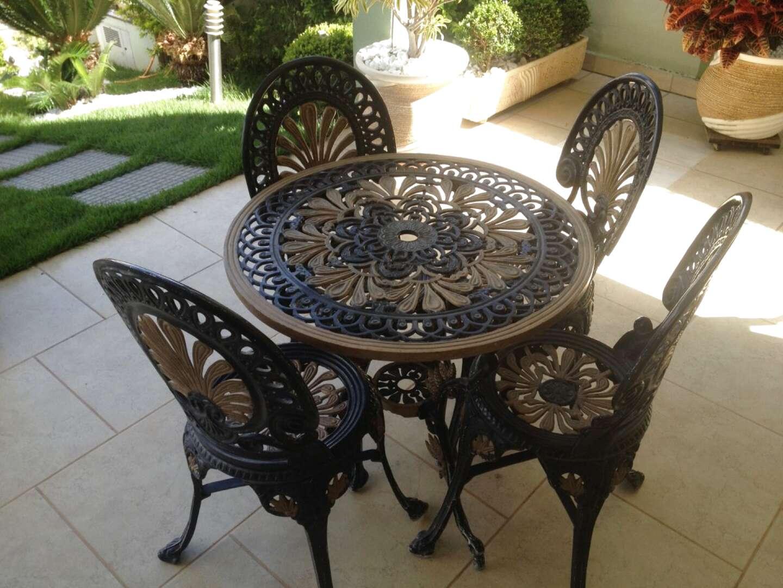 mesa Para Jardim Tropical