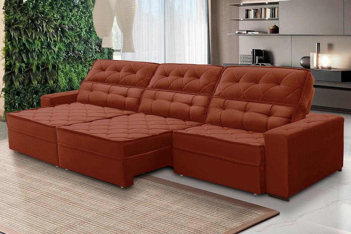 Sofa Grande De 8 Lugares