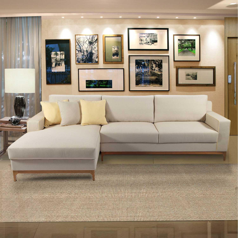 sofa grande com chaise