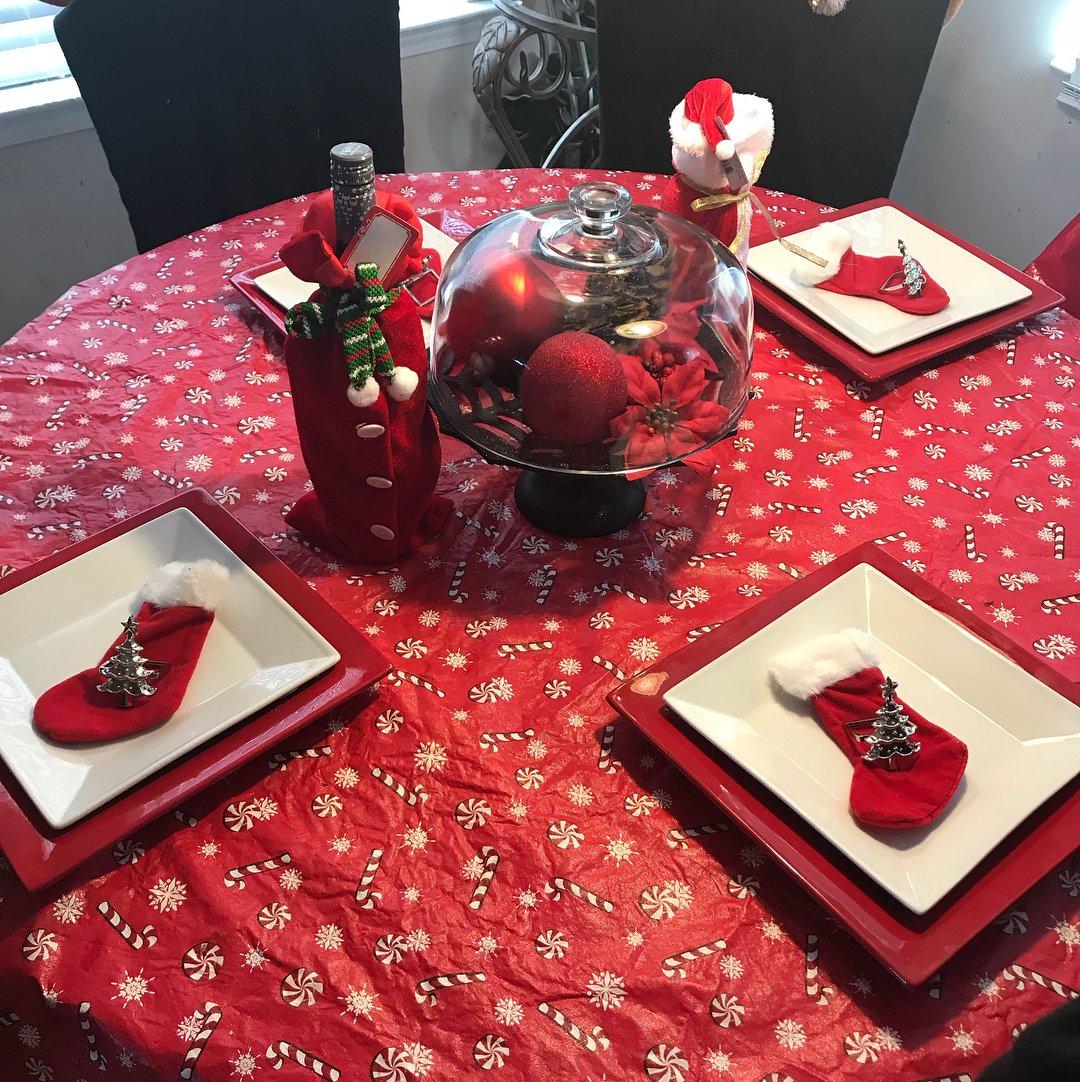 Decoração de Natal Simples Para Mesa