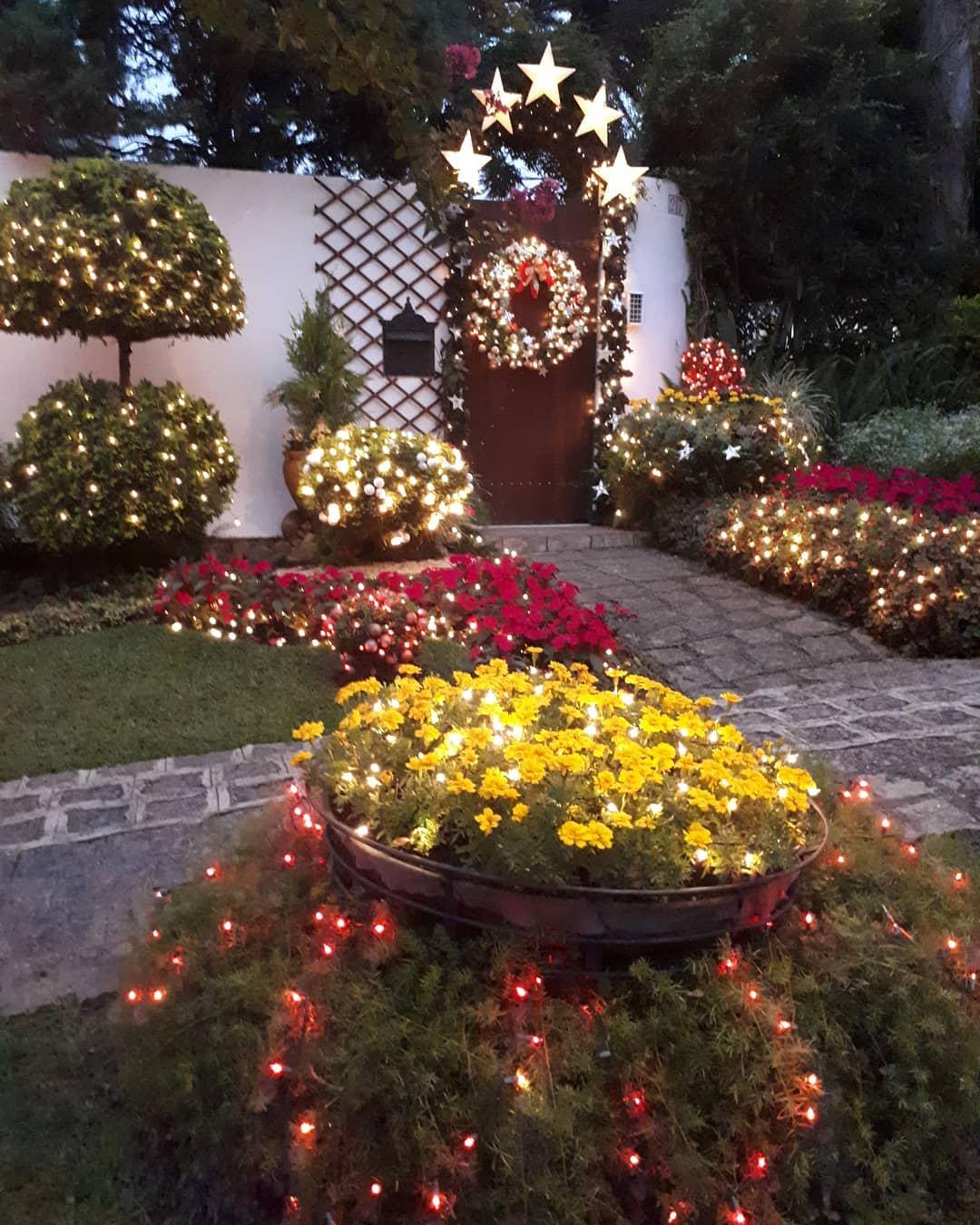 Decoracao de Natal Simples Para jardim
