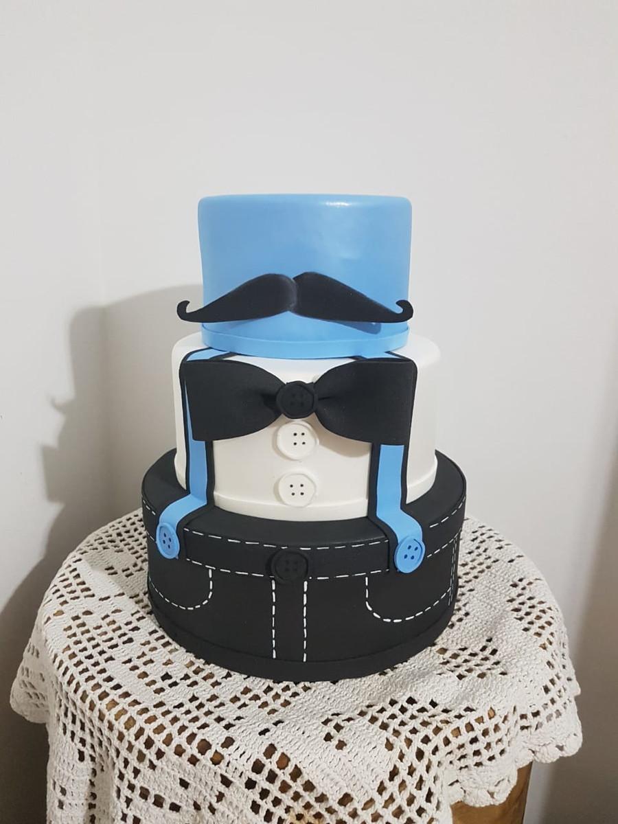 bolo fake poderoso chefinho