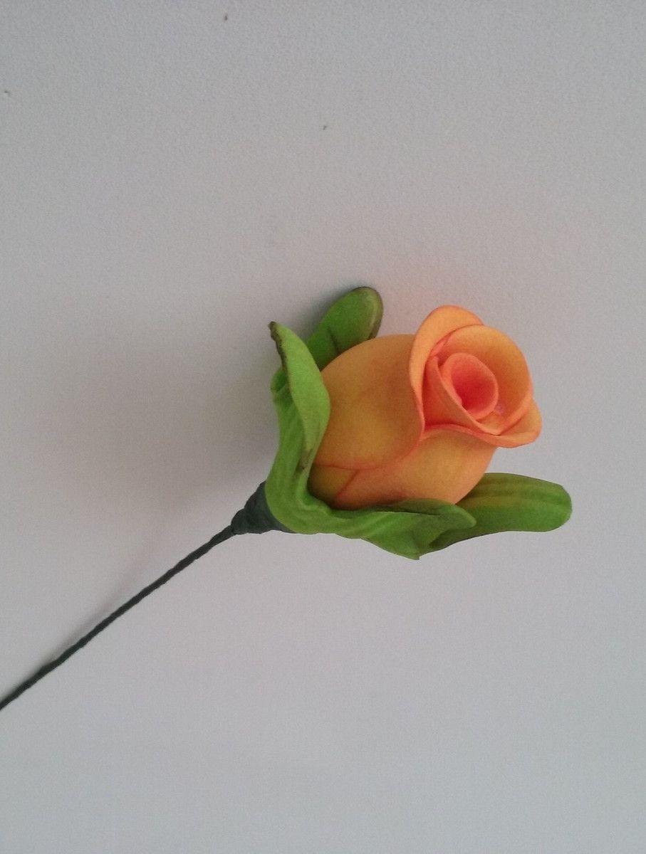 Botão De Rosa De EVA