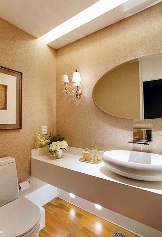 Cor Areia banheiro