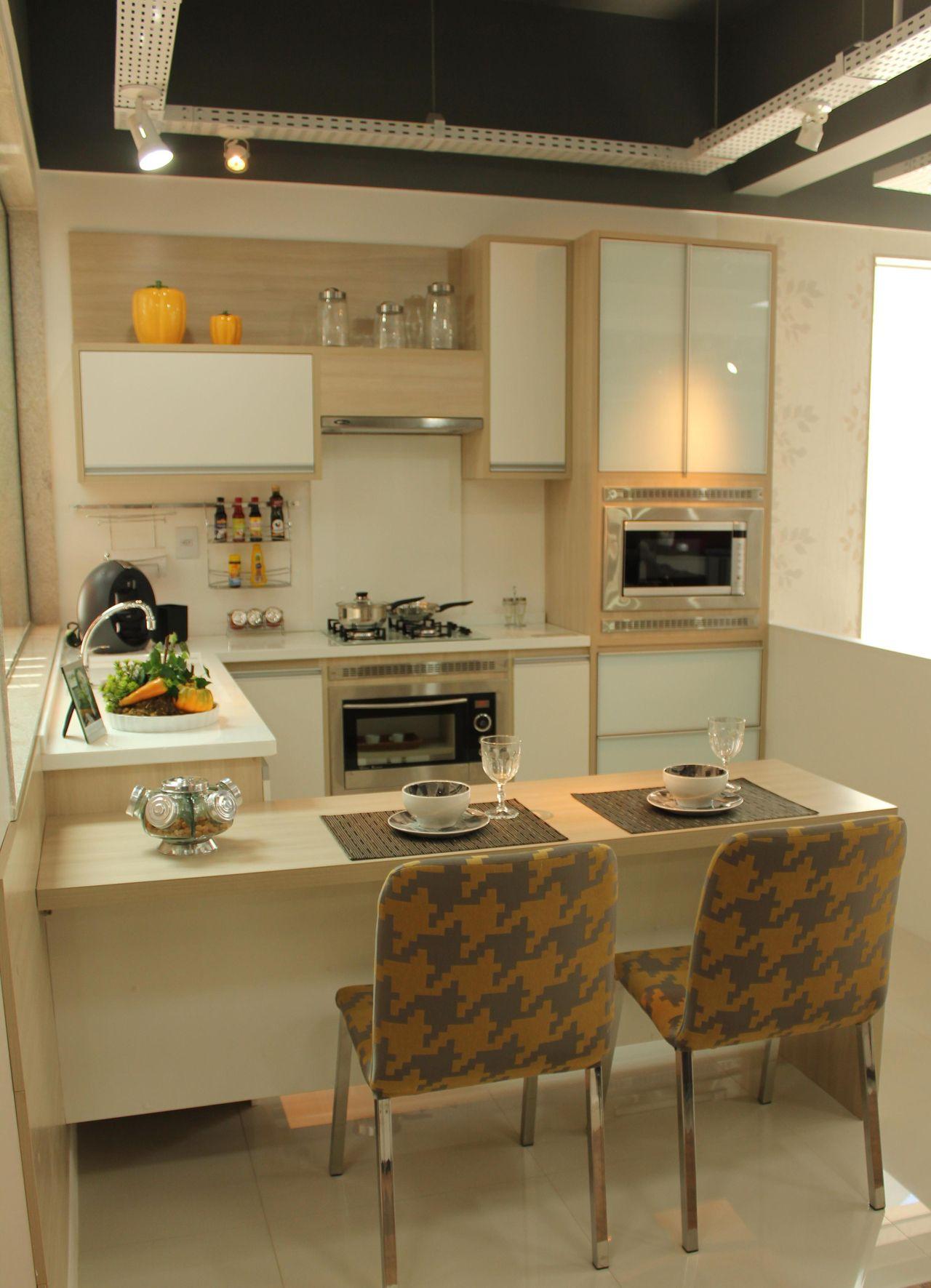 Cor Areia na cozinha