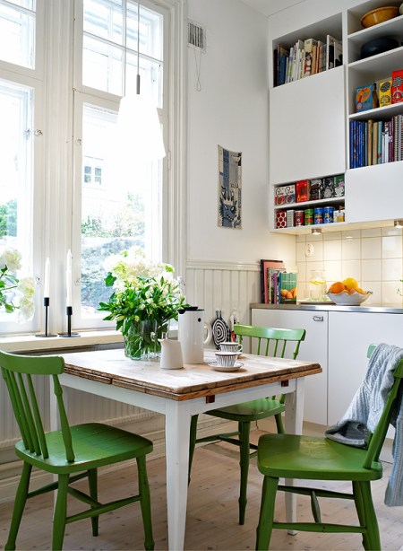 Cor Greenery Na Cozinha