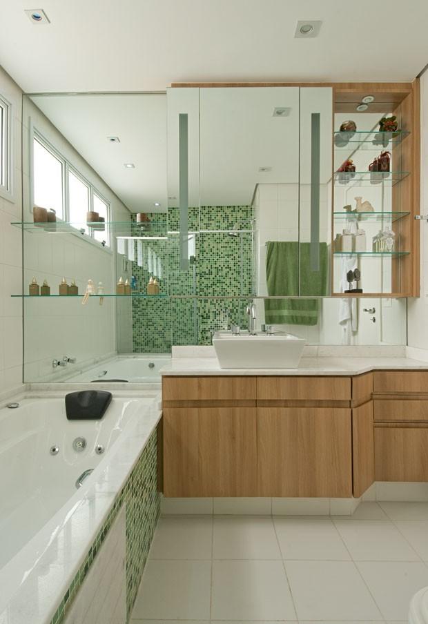 Cor Greenery banheiro