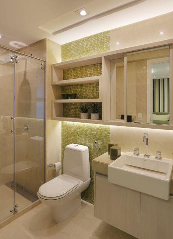 Cor Marfim No banheiro