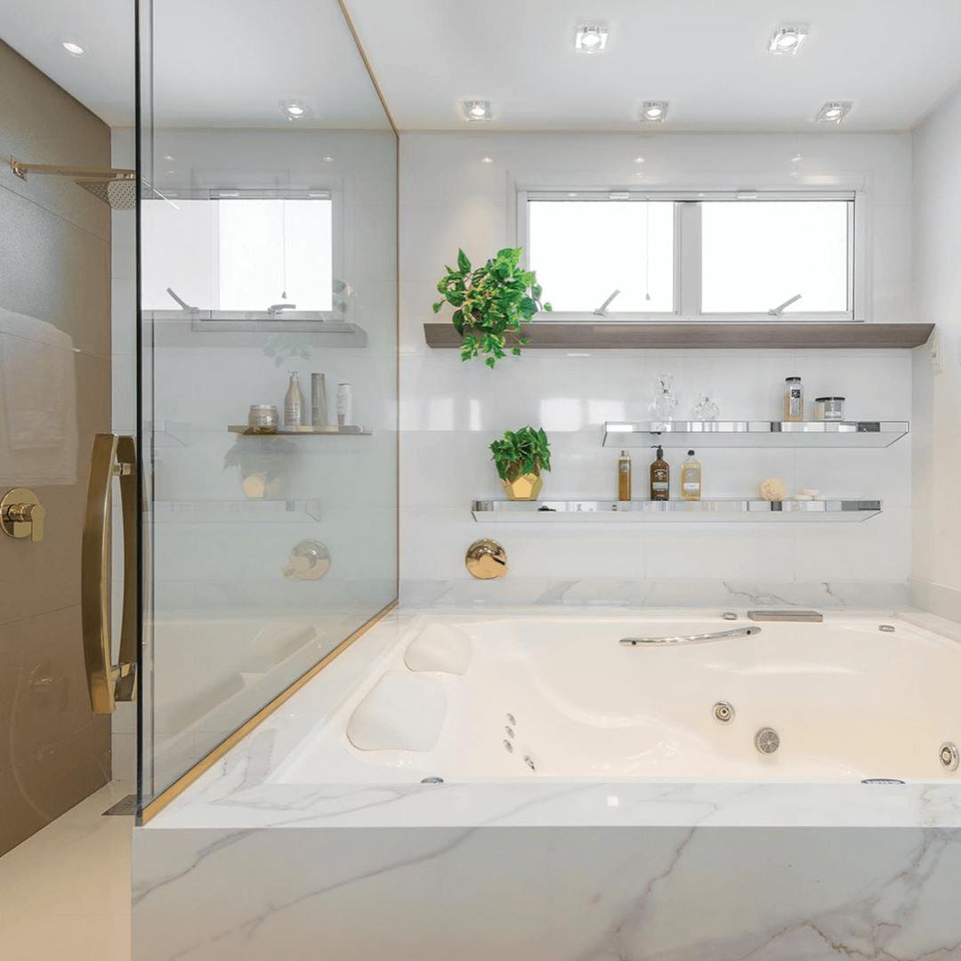 Cor Off White banheiro