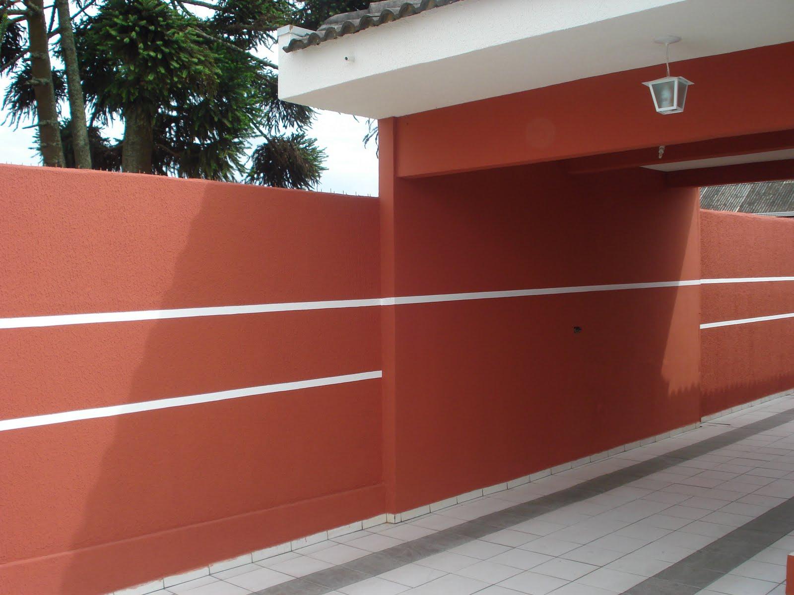 Cores Para Muro Vermelho