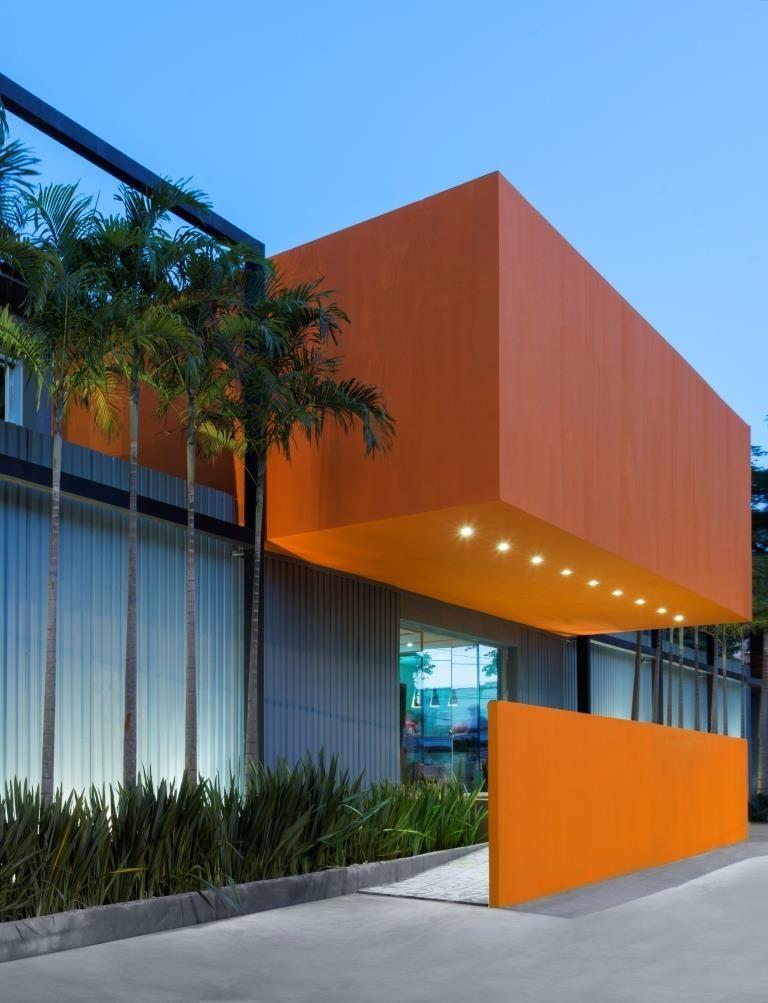 Cores Para Muro laranja