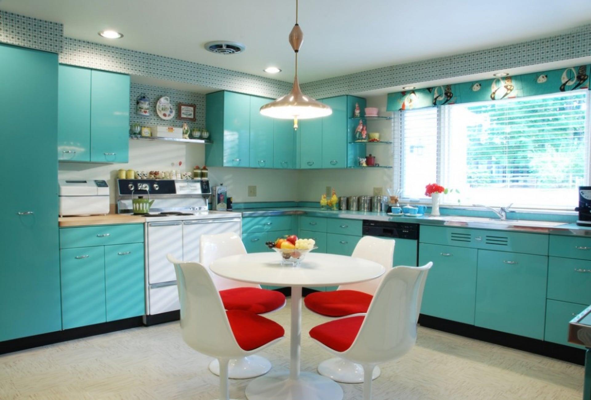 Cozinha Verde agua