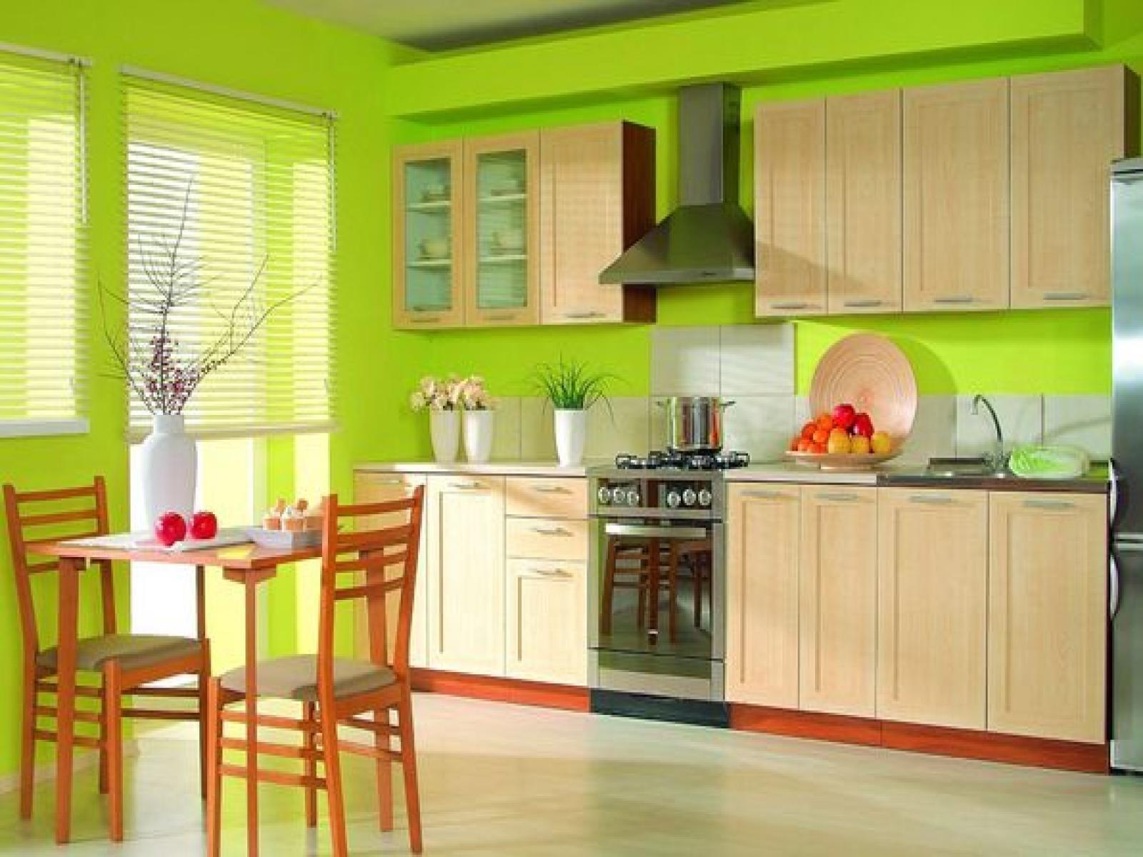 Cozinha Verde neon