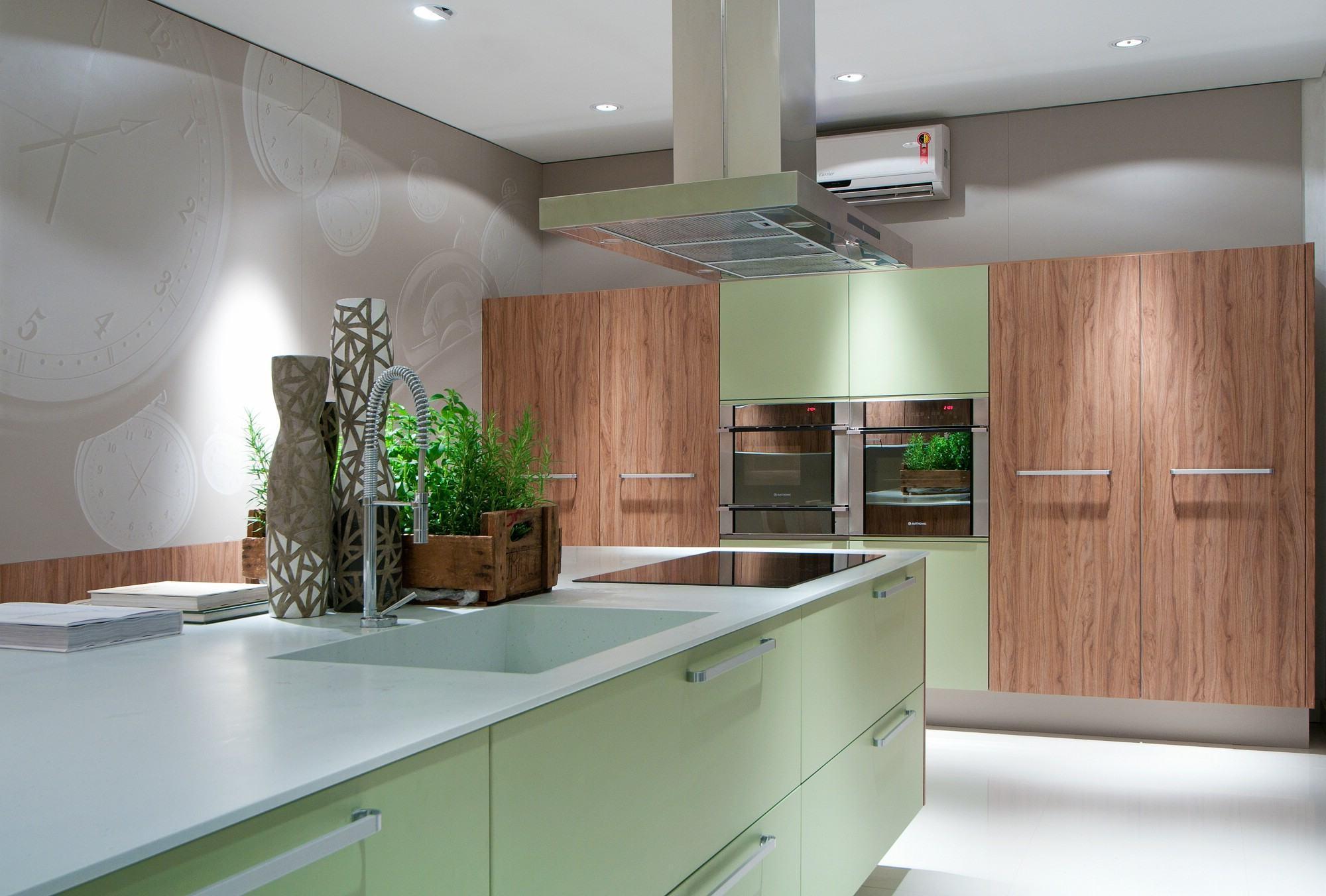 Cozinha Verde oliva