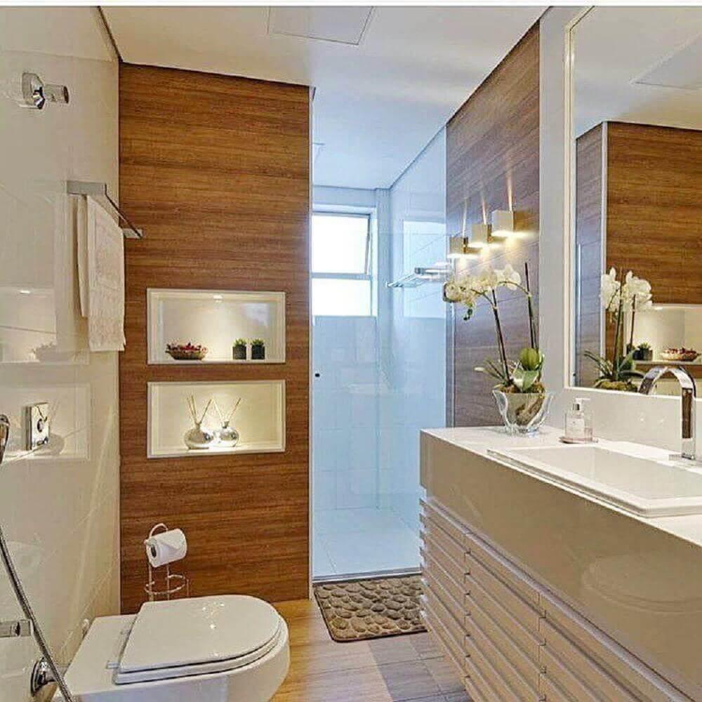banheiro Cor Palha