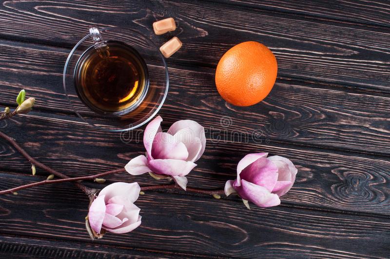 Chá De Magnólia Flor